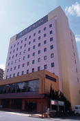 ホテルパールシティ秋田川反外観