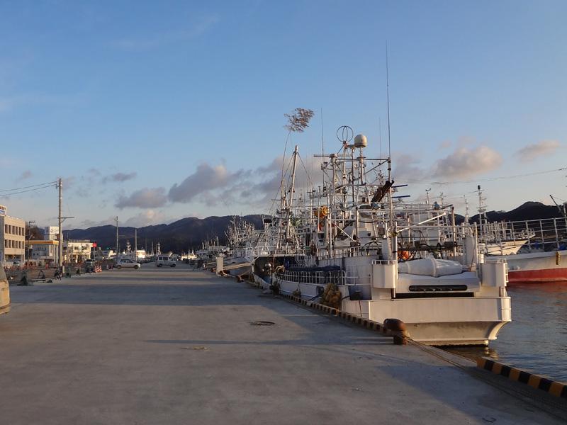 港そばの風景