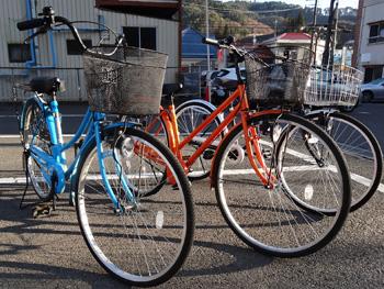 ホテル自転車イメージ