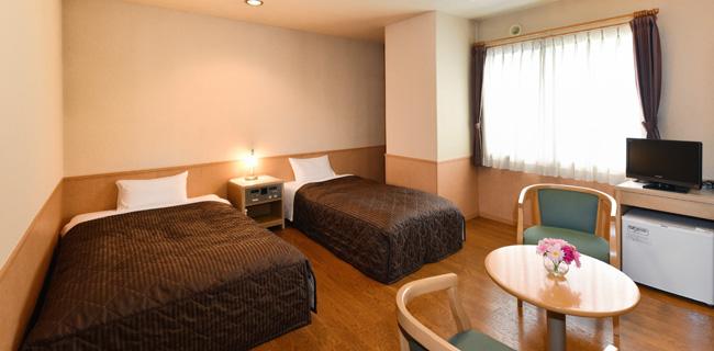 パールシティ札幌の客室バリアフリールーム