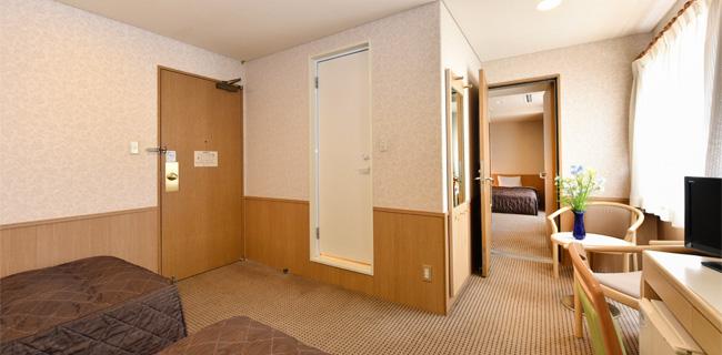 パールシティ札幌の客室コネクティングルーム