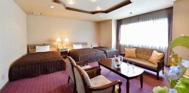 パールシティ札幌の客室デラックスツインルーム